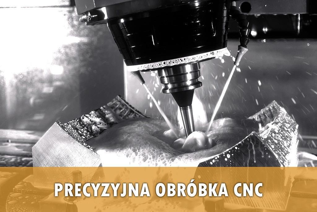 CNC - precyzyjna obróbka mechaniczna - Zetek