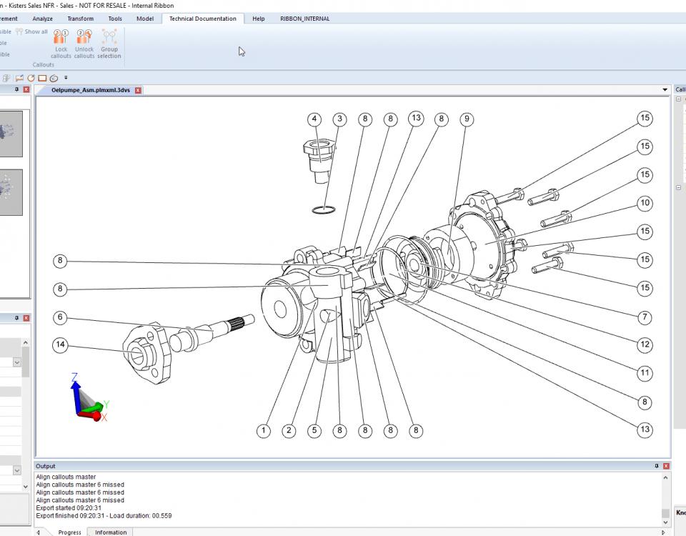 Dokumentacja Techniczna: Odnośniki na rysunku 2D.